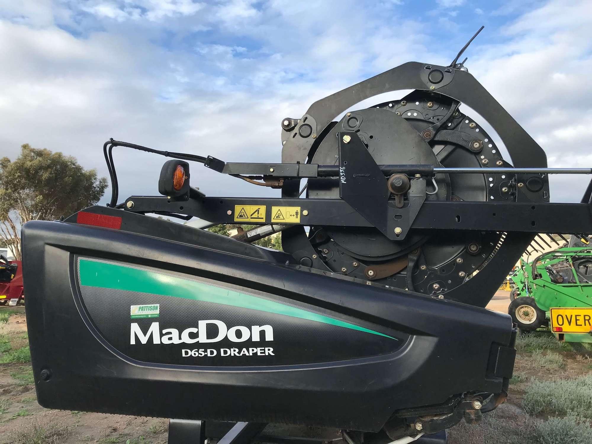 Macdon-45 foot-draper